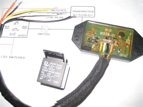 wiring a harley garage door opener into 2014 jk write up
