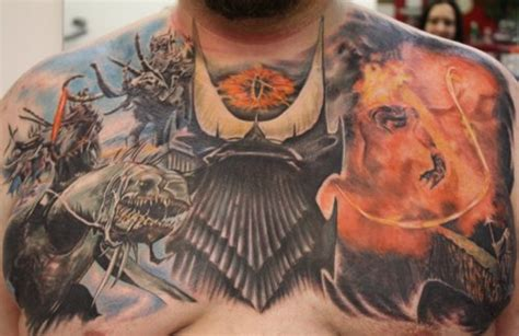 14 tolkien inspired tattoos perfect tattoo artists