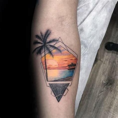 beachy tattoos 40 small tattoos for seashore design ideas