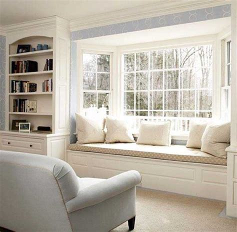 Bay Window Seat | 36 cozy window seats and bay windows with a view