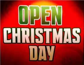are any stores open on christmas day 2014 savingadvice