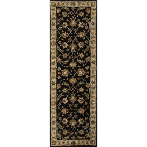 6x6 area rugs classic pattern black taupe wool area rug 2 6x6