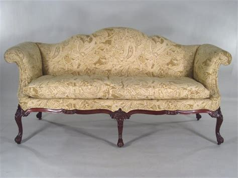 georgian sofa igavel auctions georgian camelback sofa possibly irish