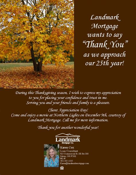 client appreciation karen s market update