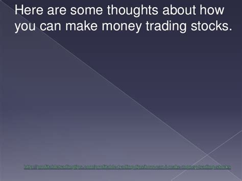 can you make money swing trading how can i make money trading stocks