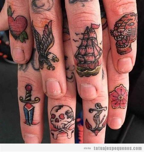 tattoo old school mujer tatuajes peque 241 os en los dedos de la mano 40 dise 241 os