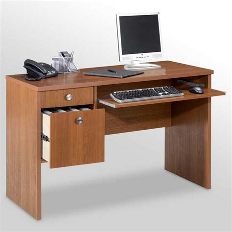 Small Computer Desks With Drawers Small Computer Desk With Drawers And Pull Out Keyboard Shelf Home Interior Exterior