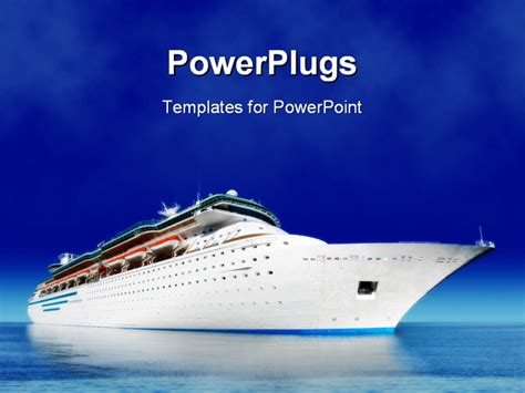 themes for powerpoint ship cruise ship powerpoint template background of