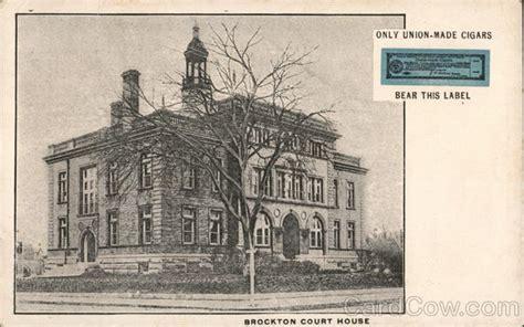 brockton court house brockton court house postcard