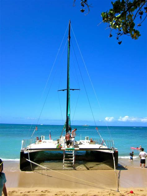 catamaran sailing waikiki beach 265 best images about multihulls on pinterest america s
