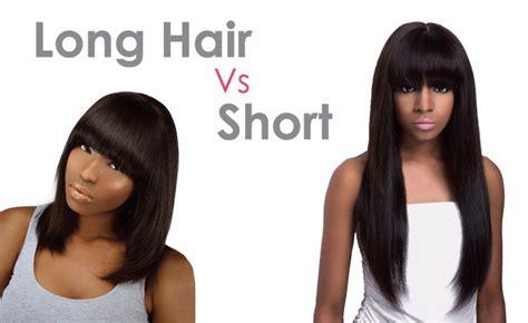 long hair vs medium hair long hair vs short hair khairmax