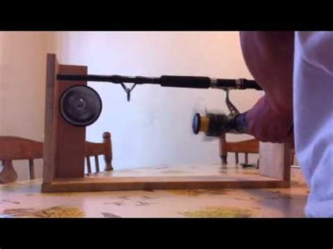 diy fishing line winder diy do it your self diy fishing reel line winder