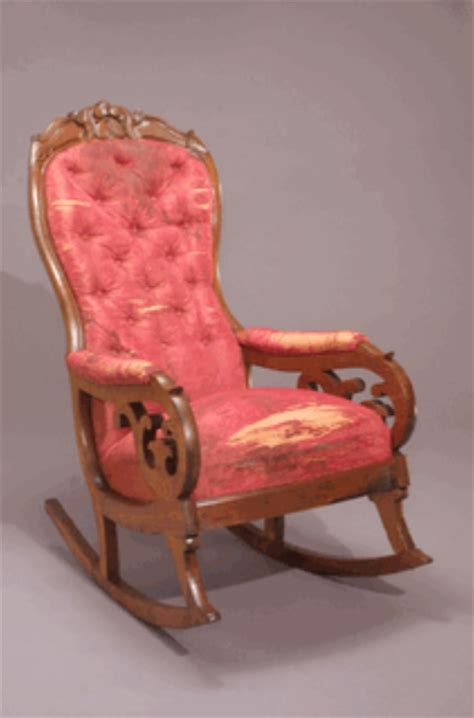 lincoln rocking chair history lincoln s rocking chair pre csi