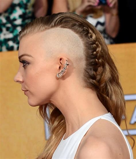 Natalie Dormer And A Half natalie dormer debuts half at sag awards ny daily news
