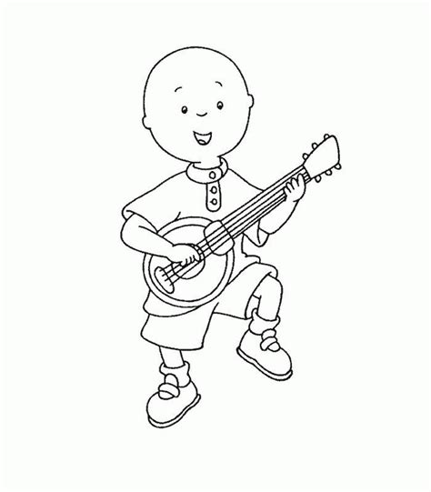 printable coloring pages for free free printable caillou coloring pages for kids