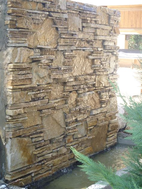 patio wall fountains water wall water feature by matthew giietro