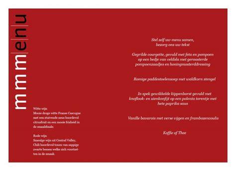 menu kaart layout kaartencollectie be gt menukaarten artistieke etsen voor