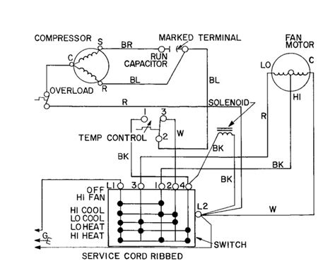 window ac wiring diagram carrier window unit wiring diagram get free image about
