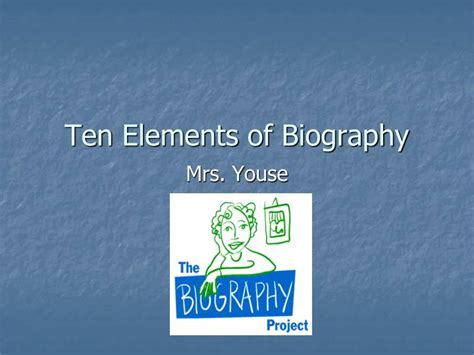 elements of biography and autobiography ppt ten elements of biography powerpoint presentation