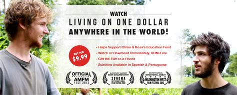 living on one dollar trailer living on one dollar 2013 movie