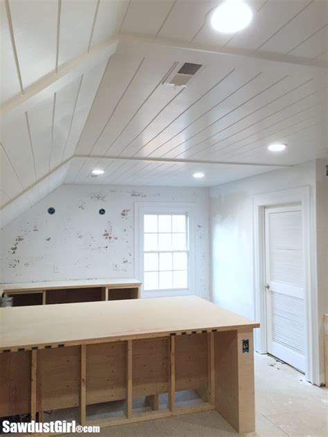 Ceiling Planks V Groove Plywood Plank Ceiling Sawdust 174
