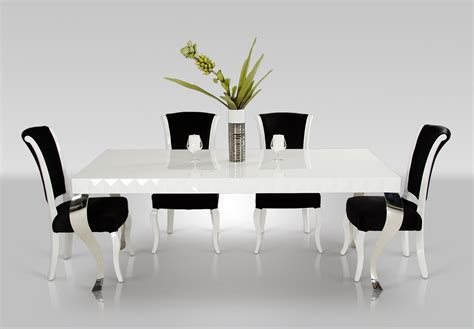 metal and wood chairs bastianbintang white lacquer dining table canada designer tables reference
