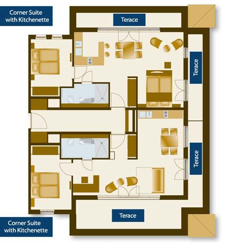 floor plans with in suite 33 best images about hotel room plan on modern
