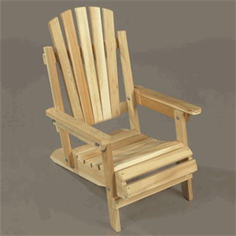 Cedar Wood Child S Folding Adirondack Chair