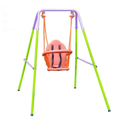 action swings action nursery swing green action sports