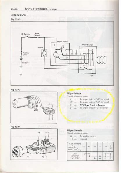 76 wiper switch diagram schematic ih8mud forum