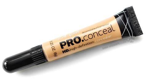 L A Pro Conceal l a pro conceal hd concealer review swatches