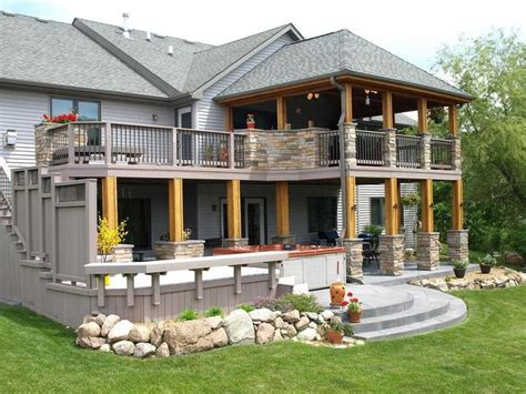 covered deck ideas covered deck designs bing images