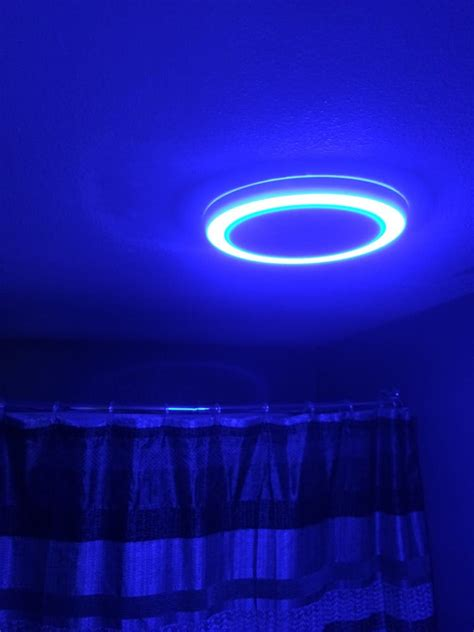 bluetooth exhaust fan light interesting 90 led bathroom night light design ideas of 8