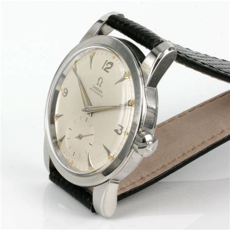 Omega Sidney buy 1954 vintage automatic omega seamaster sold items