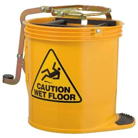 Pictures Of Yellow Kitchens - oates contractor wringer mop bucket blue janitorial supplies mop buckets product detail