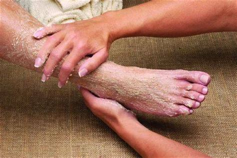 Foot Scrub the foot spa