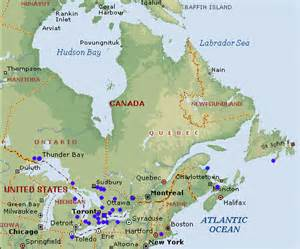 map east canada canada east and canada west images