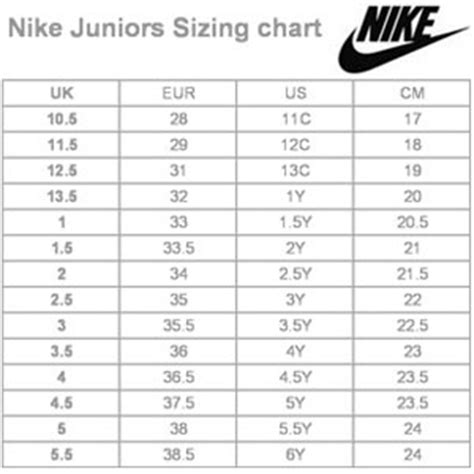 nike football shoes size chart dms sportsworld ebay stores