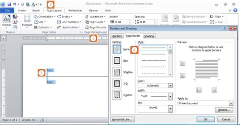 insert decorative line break word how to draw vertical and horizontal lines in word 2010