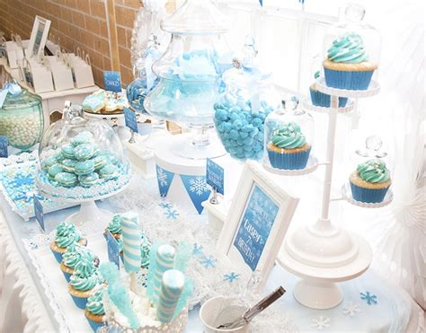frozen themed decorations kara s ideas frozen themed birthday ideas