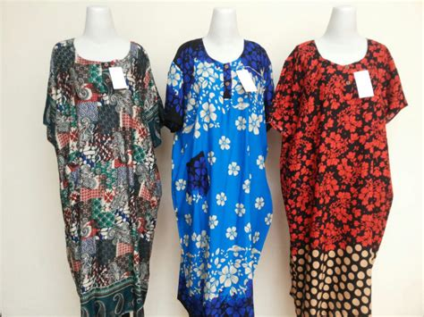 Longdress Batik Daster Jumbo Batik Pekalongan 6 grosir daster murah bandung baju3500