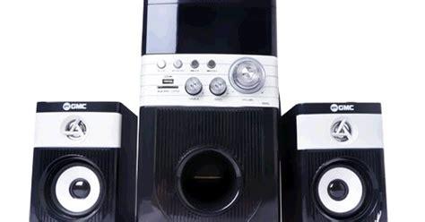 Speaker Multimedia Gmc 887d harga speaker aktif gmc 888q terbaru