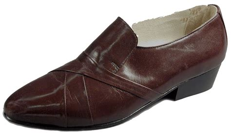 wide mens dress shoes leathercoatsetc mens leather pleated dress shoe wide width