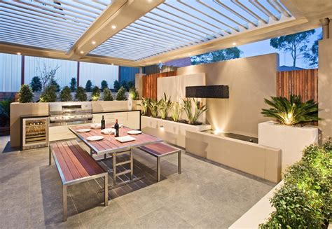 outdoor entertainment area design ideas at home interior