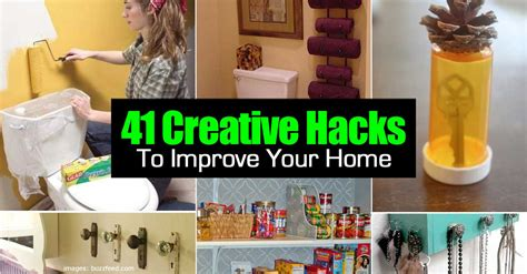 41 creative awesome diy hacks to improve your home