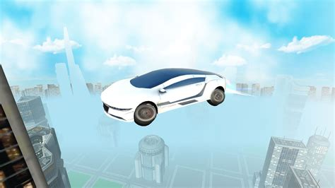 Futuristic Flying Car Driving Apk V3 For Android