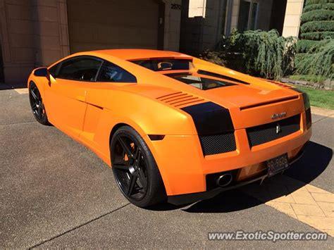Lamborghini Portland Lamborghini Gallardo Spotted In Portland Oregon On 09 10 2016