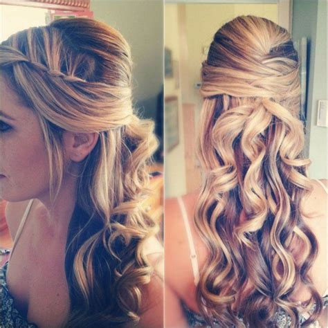 Hairstyles With Curls And Braids by Wedding Hairstyles With Braids And Curl Hair Elite