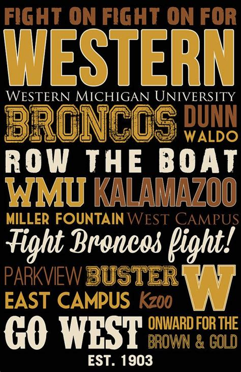 row the boat wmu song 25 best ideas about western michigan university on