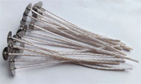Candle Wicks Ec 120mm Length Cotton Linen Wicks For Soy Candles